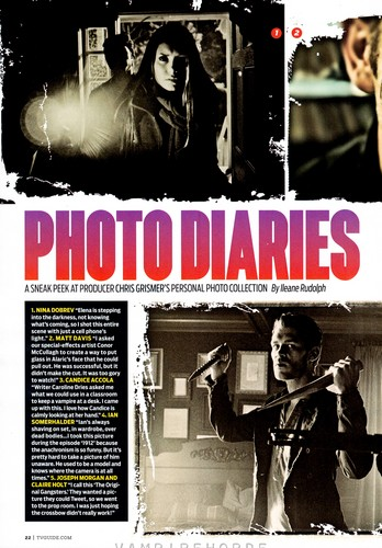 TV Guide TVD Comic Con special edition - scans - the-vampire-diaries Photo