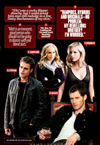 TV Guide special TVD Comic Con edition - scans