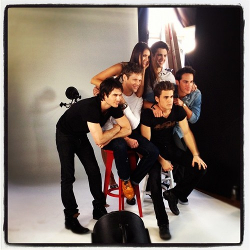 TVD Comic Con 2012 - the-vampire-diaries-tv-show Photo
