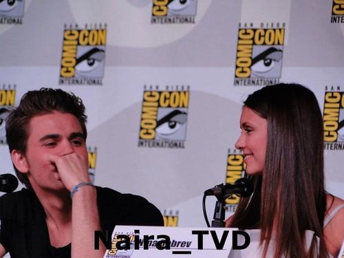 TVD cast Comic Con 2012