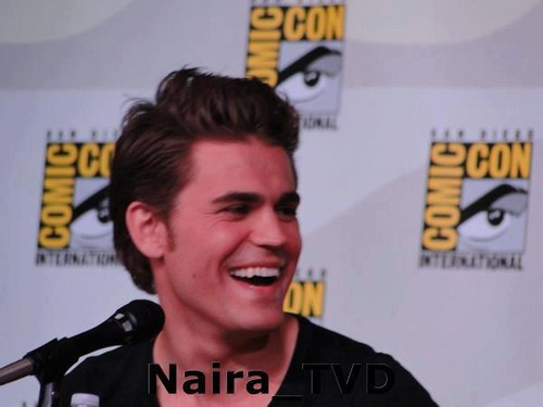 TVD cast Comic Con 2012 - the-vampire-diaries Photo