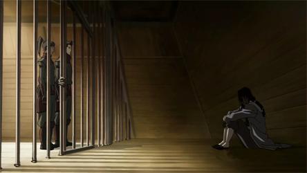 Tarrlok imprisoned sa pamamagitan ng Noatak/Amon