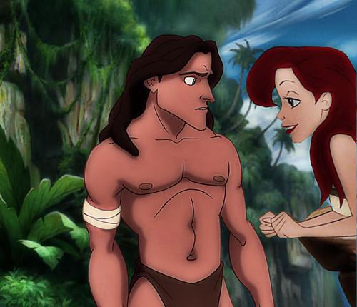 Tarzan & Ariel