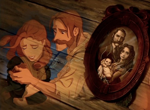 Disney Parents achtergrond with anime called Tarzan's Parents