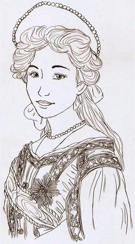 Tatiana Drawing