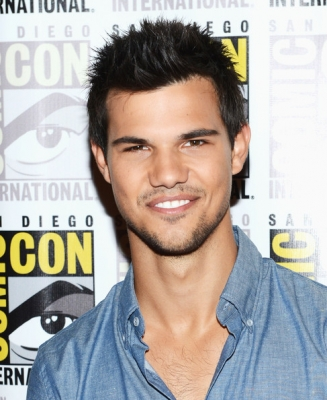 Taylor Lautner at San Diego Comic-con 2012
