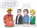 Thanksgiving - stargate-sg-1 fan art