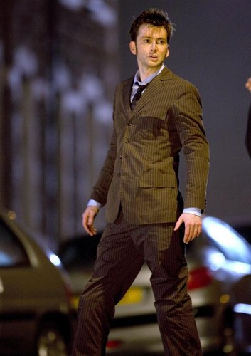 The Tenth Doctor wallpaper with a business suit, a well dressed person, and a suit entitled The Doctor