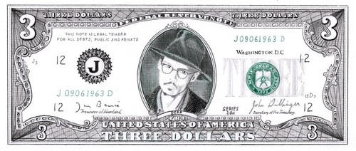 The Johnny Depp dollar