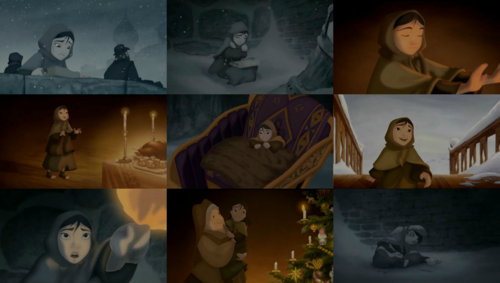 The Little Match Girl Screencaps - childhood-animated-movie-heroines Photo