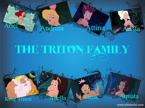 The Triton Family Collage