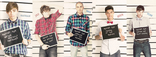 The Wanted are wanted