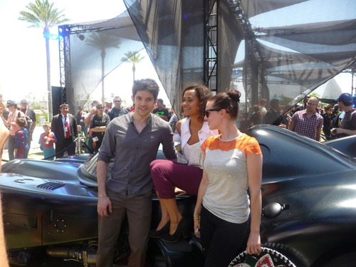 The Queen of Camelot et Al: SDCC 2012