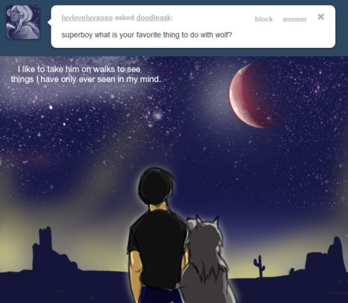 This is my favourite ask Superboy question