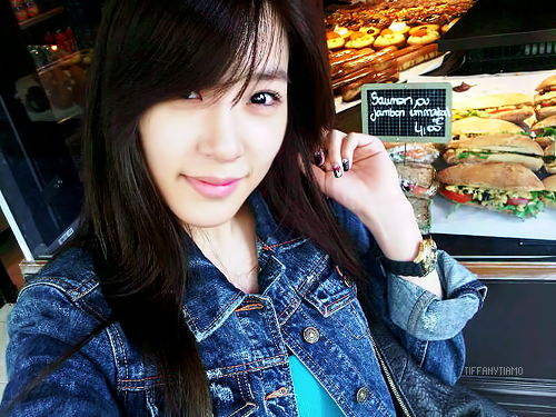 Tiffany Hwang wallpaper with a barbecue titled Tiffany