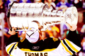 Tim Thomas and the Stanley Cup - 2011