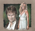 Sookie and Bill- True Blood - true-blood fan art