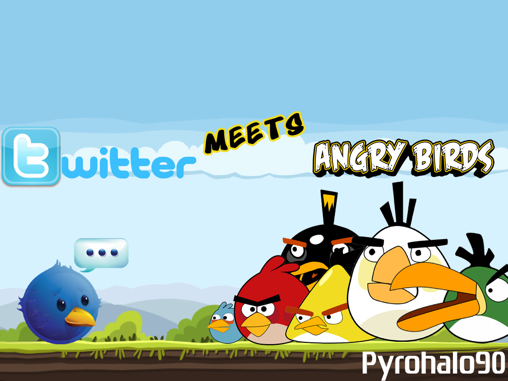 Twitter Meets Angry Birds!