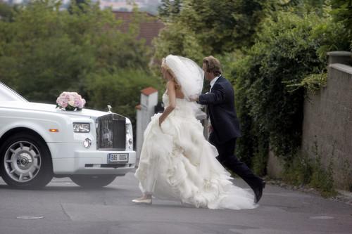 Two years since the wedding Radek Stepanek and Nicole Vaidisova !