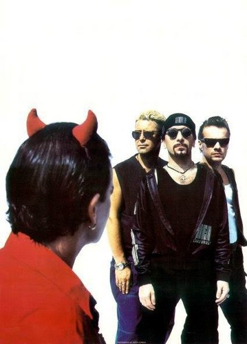 U2 and Mr. MacPhisto - u2 Photo