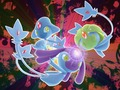 Uxie, Mesprit and Azelf  - legendary-pokemon wallpaper