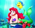 Walt Disney karatasi za kupamba ukuta - The Little Mermaid