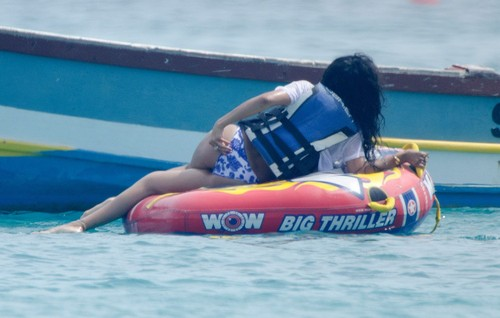 Wearing Bikini In Barbados [12 July 2012] - rihanna Photo