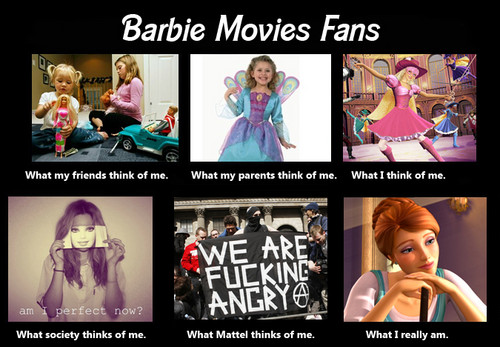 What the world thinks of me[me] - barbie-movies Fan Art