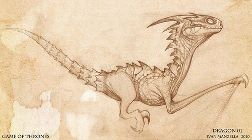 Dragon- Concept Art