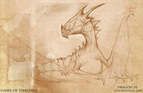 Dragon- Concept Art - game-of-thrones Photo