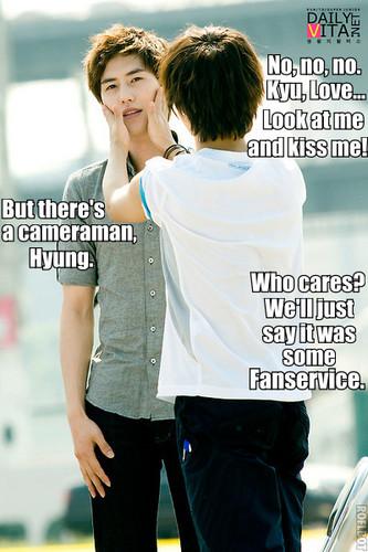 Yesung with SuJu/ YeKyu***