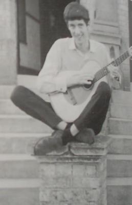 Young Brian May