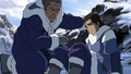 Young Tarrlok and his father Yakone