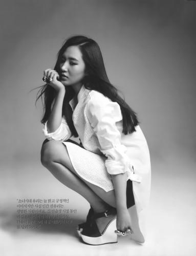 Yuri @ Bazaar magazine
