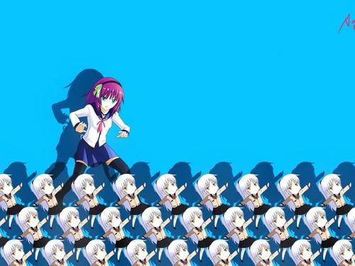 Yuri fond d'écran
