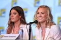 Yvonne Strahovski & Jennifer Carpenter @ Comic Con 2012