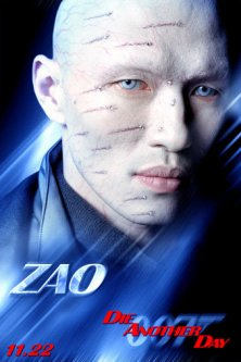 Zao from Die another day