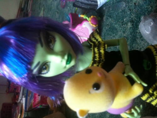 Zhu zhu pets and Monster high