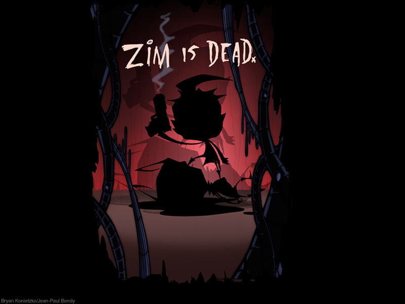 Zim is dead by Jhonen Vasquez - girsmurf22 Photo (31445474 ...