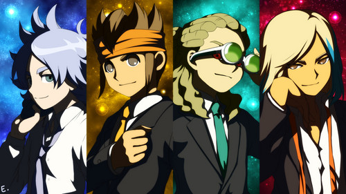 inazuma eleven wallpaper possibly with anime called all grow up