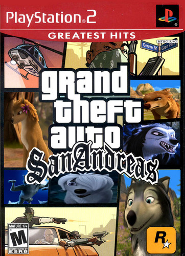 alpha and omega gta san andreas crossover
