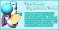 Baby blue Yoshi description