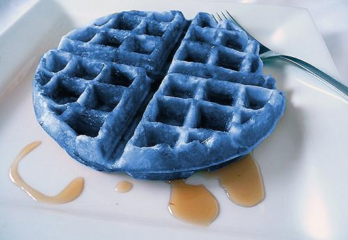 Héros de l'Olympe fond d'écran containing a waffle iron and gaufres called blue waffles!