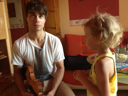 Alexander Rybak wallpaper probably containing a hunk and skin entitled cute