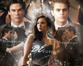 devotion - damon-and-elena-and-ian-and-nina fan art