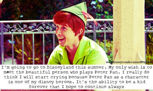 Disney disney confessions Disney Confessions Peter Pan
