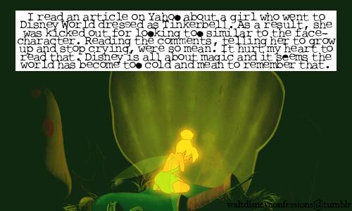 Pan disney confessions Disney Confessions Peter Pan