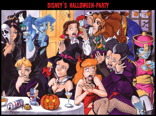 disney's Dia das bruxas