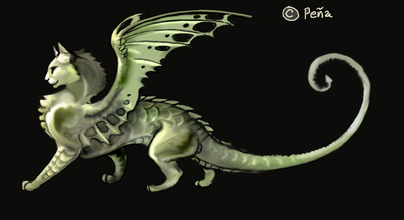 If I were a dragon ... I would look like this .. - Page 3 Dragon-cat-cats-31476788-800-436