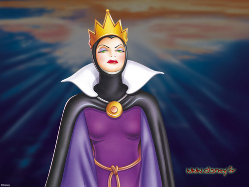 Evil Queen hình nền probably with a surcoat, áo lót titled evil
